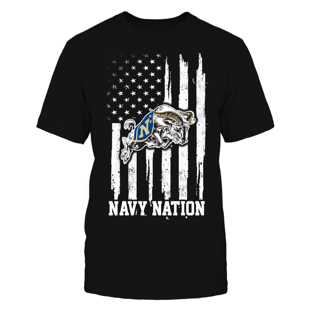 Navy Midshipmen - Nation Flag Front picture