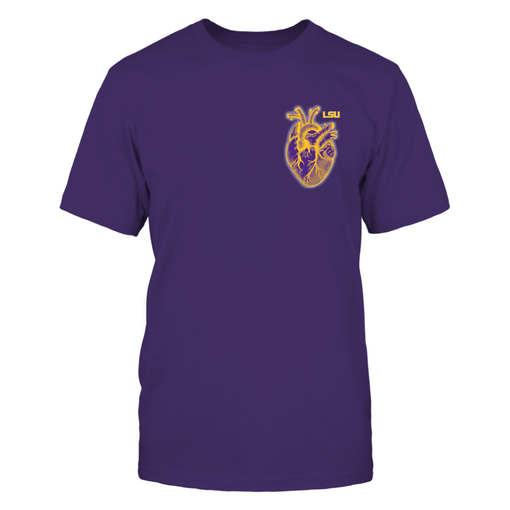 LSU Tigers - The heart Front picture