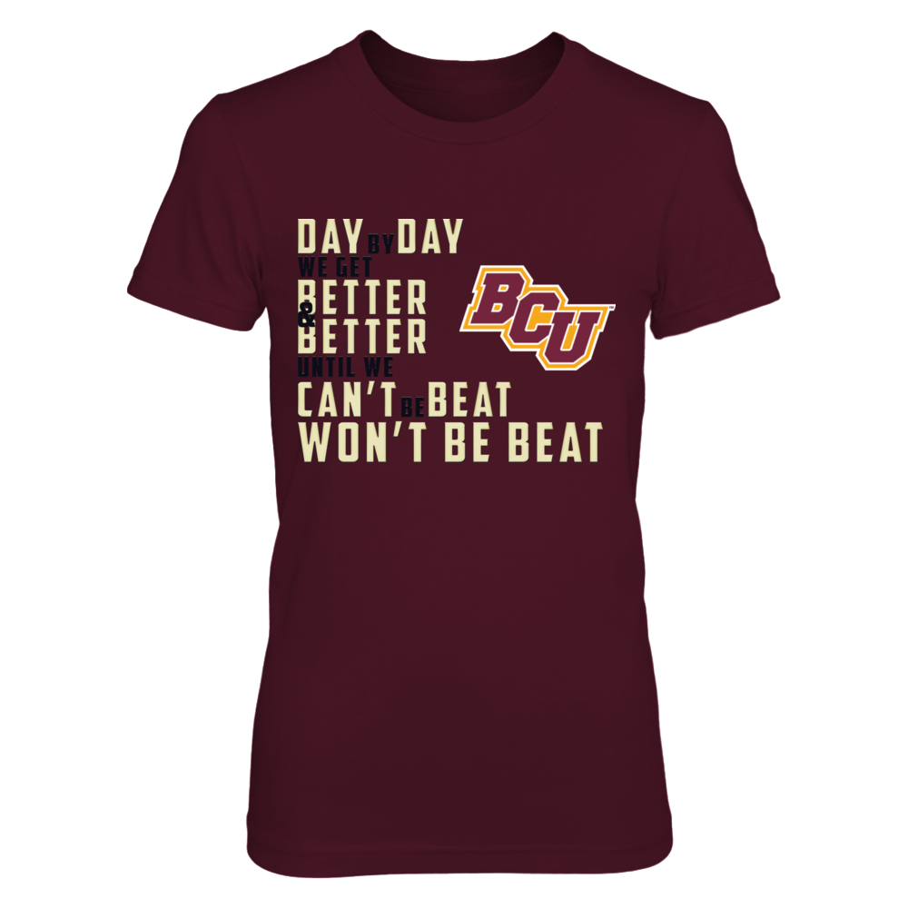 Bethune-Cookman Wildcats, Day by Day Front picture