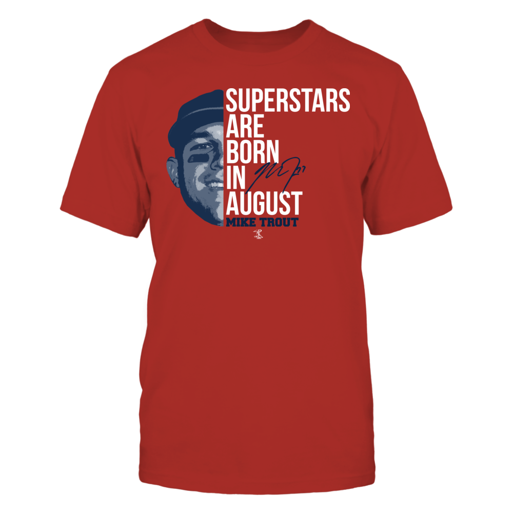 Mike Trout - Superstars Are Born In August Front picture