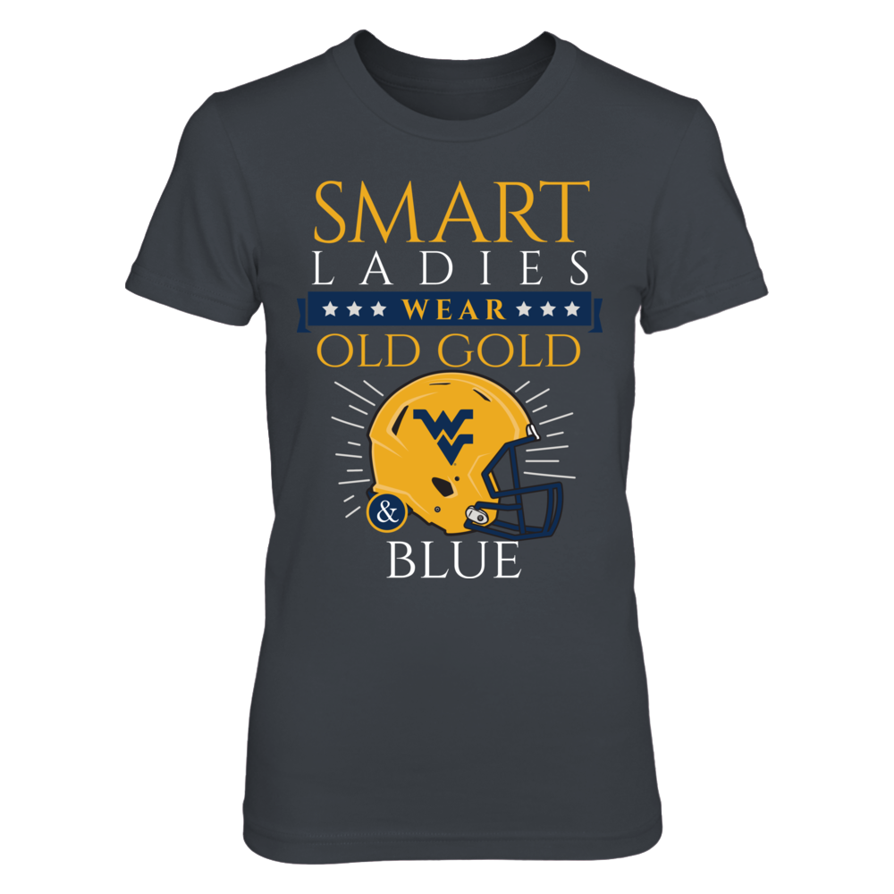 Smart Ladies Wear Old Gold & Blue! Front picture