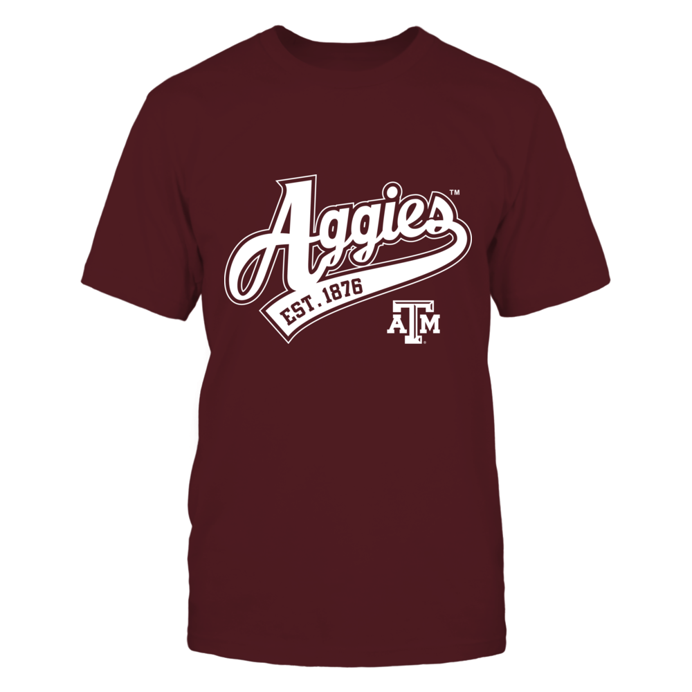 Aggies Classic Script Front picture
