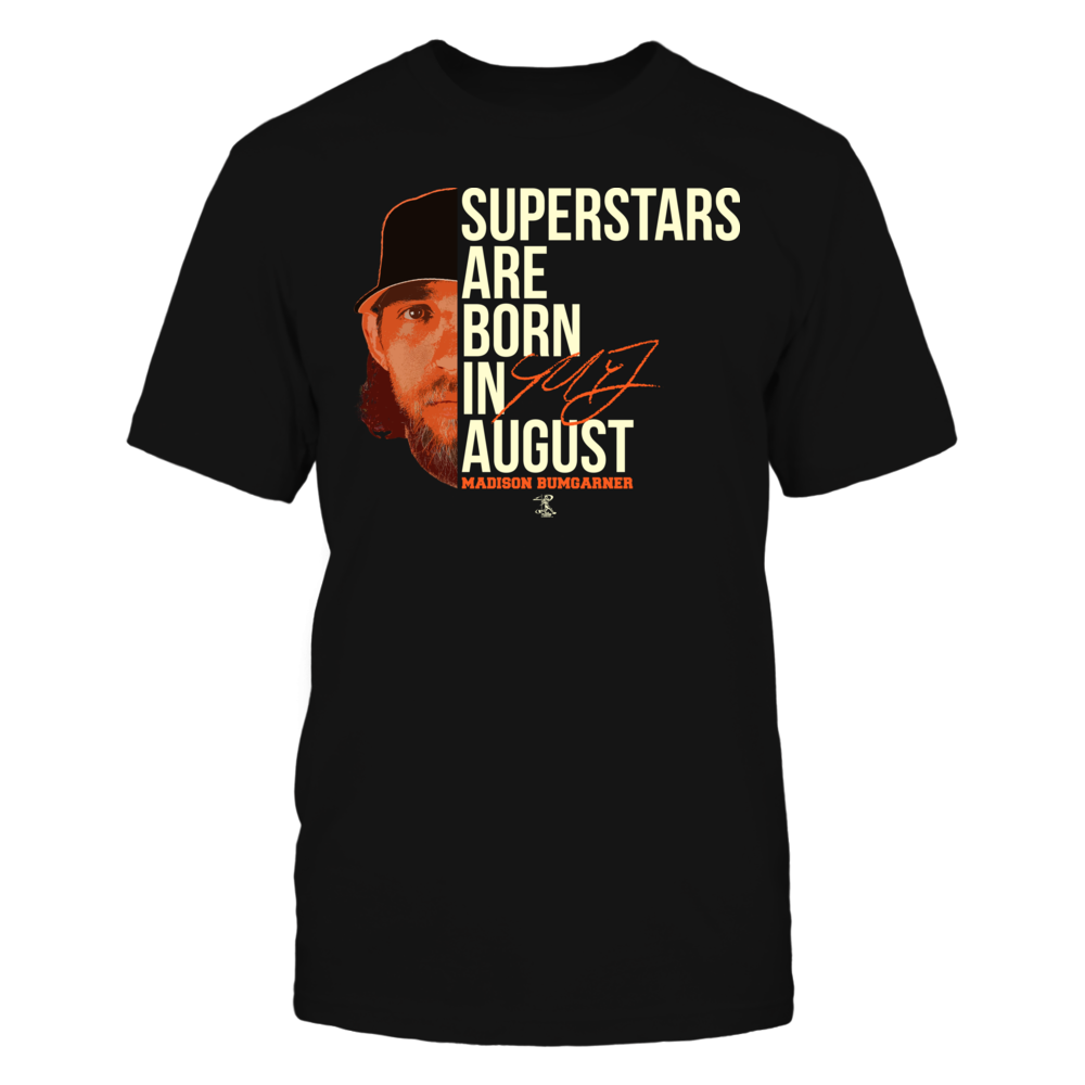 Madison Bumgarner - Superstars Are Born In August Front picture