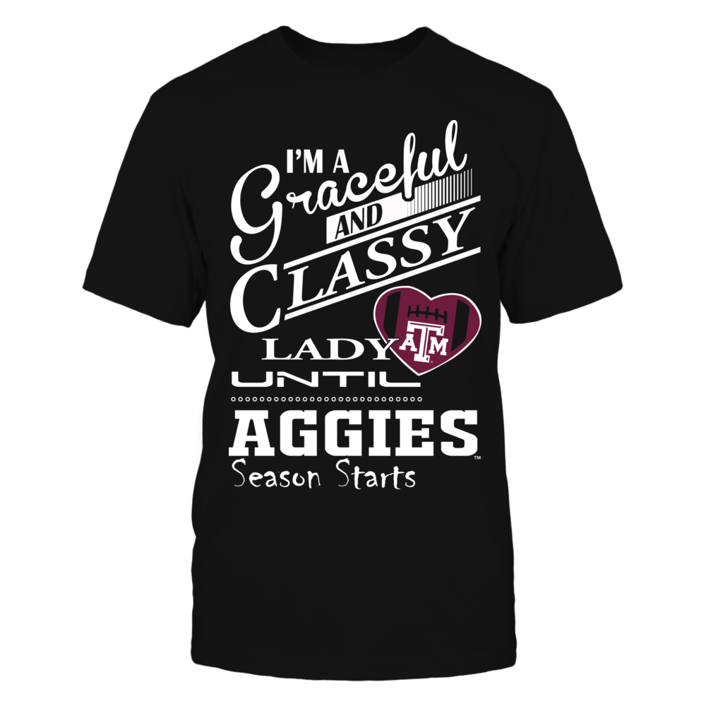 Texas A&M Aggies - Graceful and Classy Lady Front picture