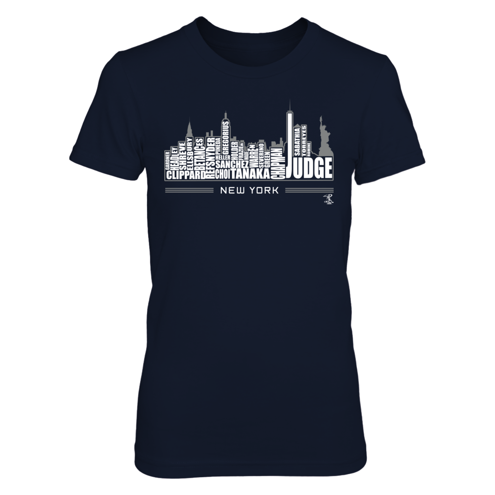 Aaron Judge - New York Skyline Front picture