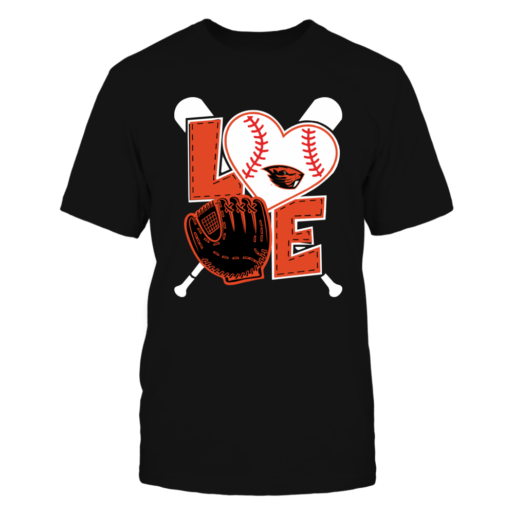 Oregon State Beavers - Love baseball Front picture