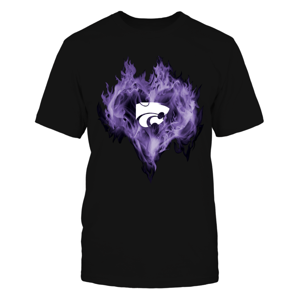 Kansas State Wildcats - Ice heart Front picture