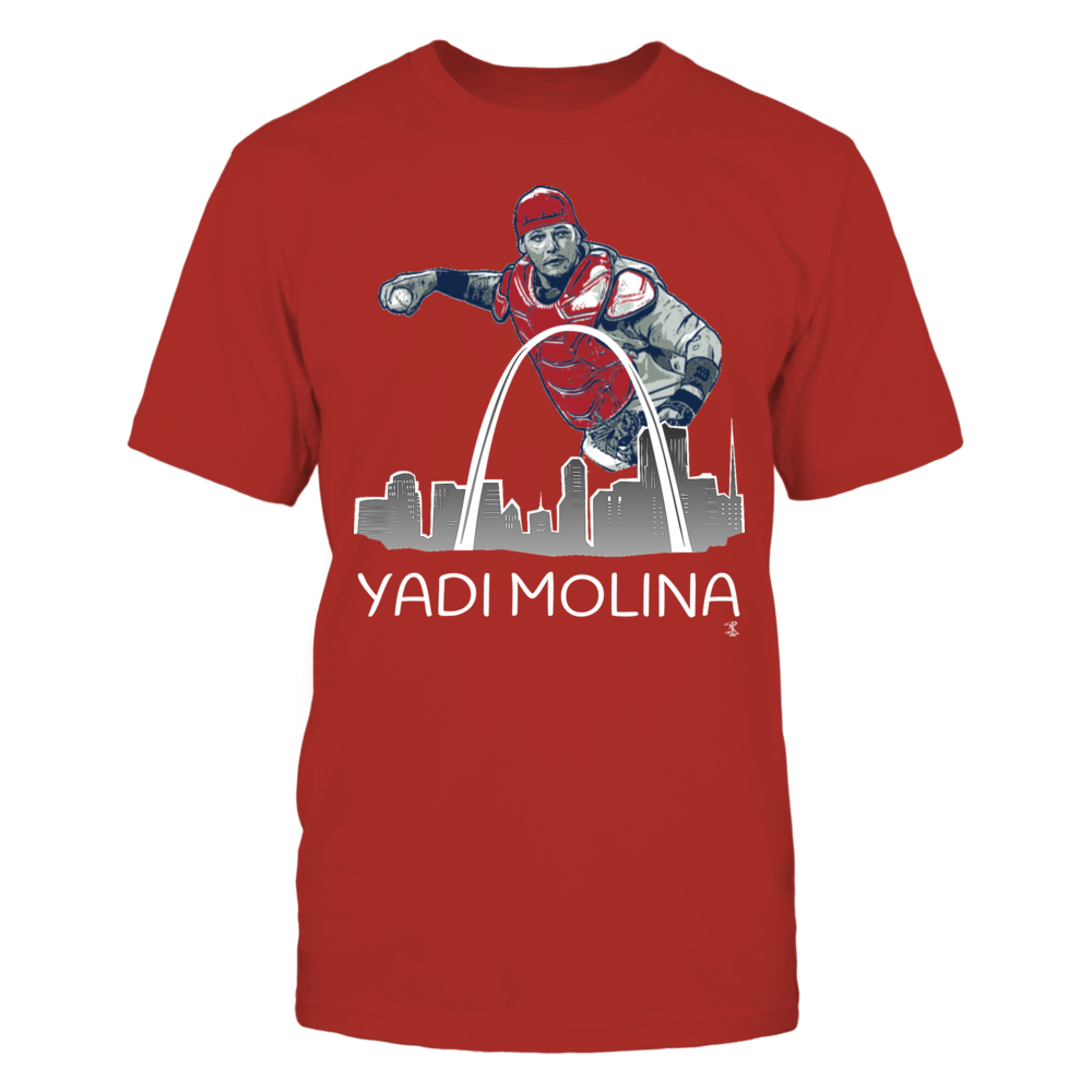 Yadi Molina, St. Louis Skyline Front picture