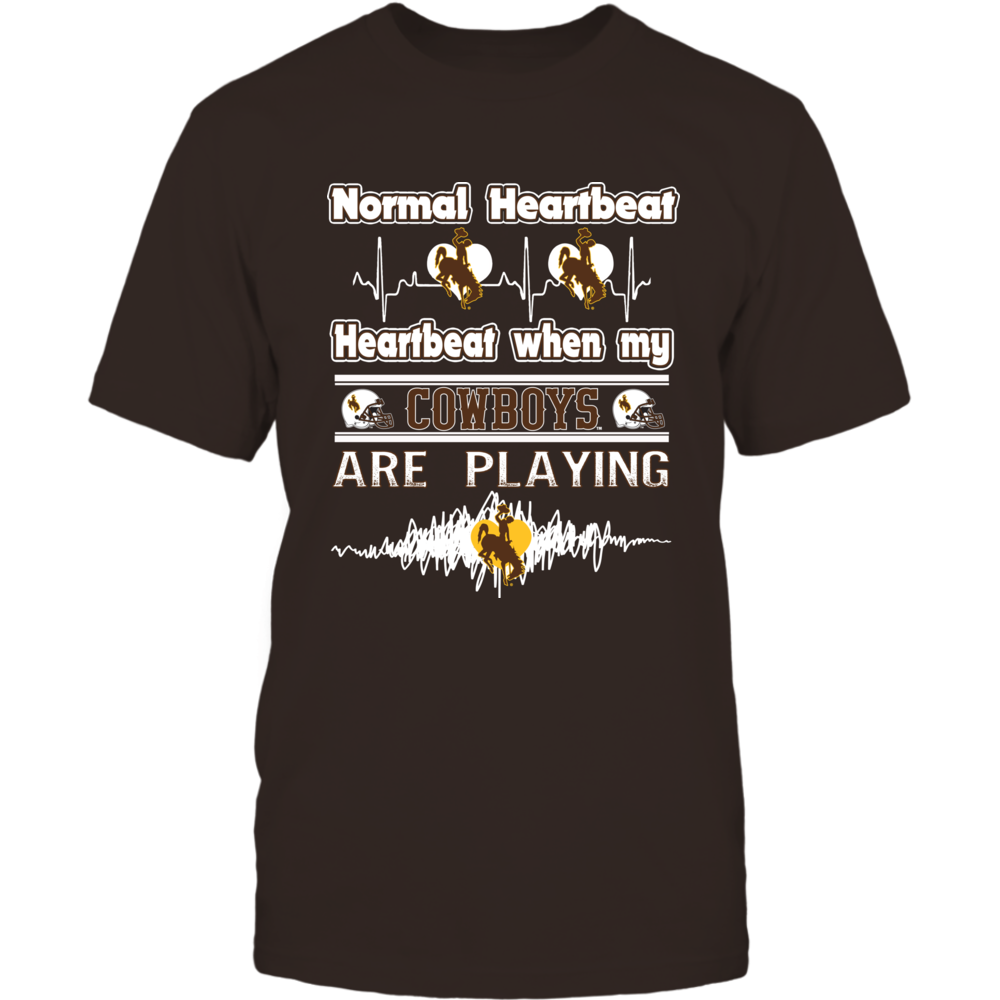 Wyoming Cowboys - Heartbeat Front picture