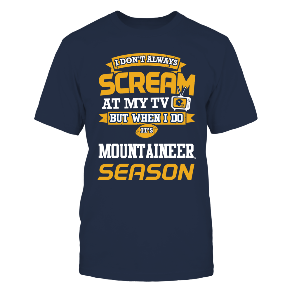 Screaming Mountaineers Fan Front picture