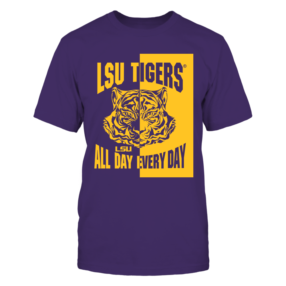 LSU Tigers - All day everyday Front picture