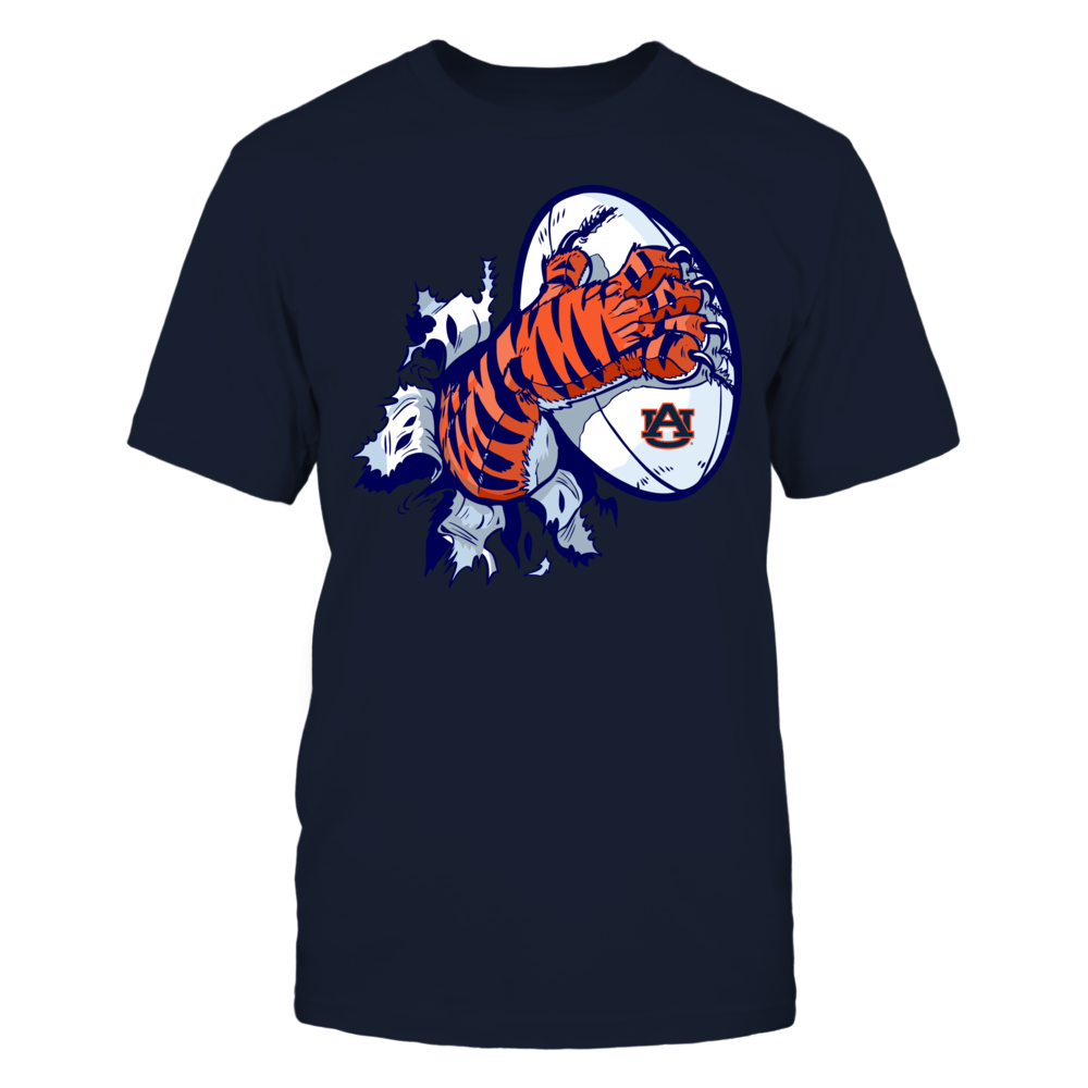 Auburn Tigers - Tiger tearing shirt Front picture