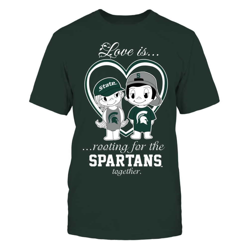Michigan State Spartans - Love Is Front picture