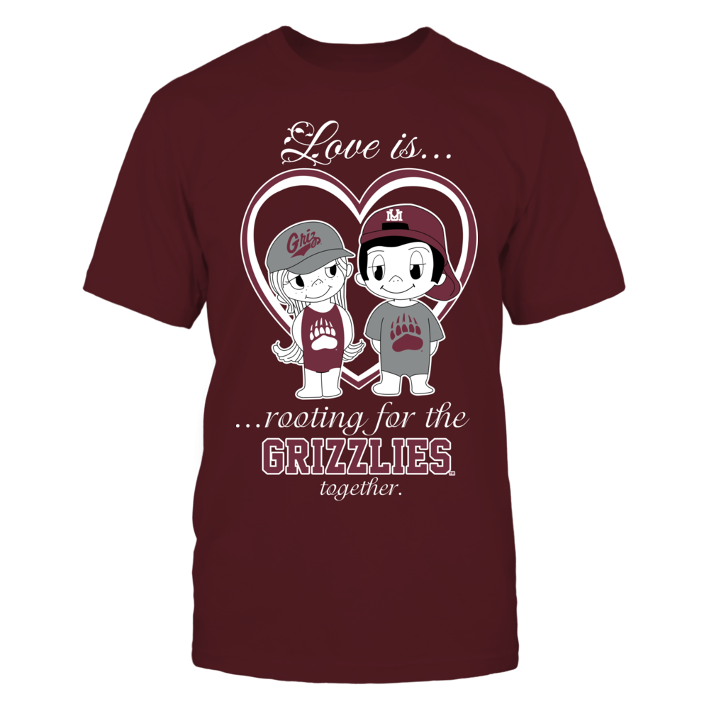 Montana Grizzlies - Love Is Front picture