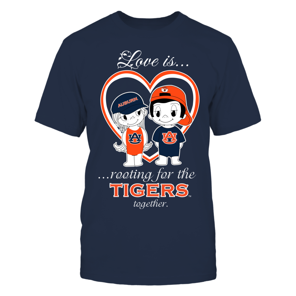 Auburn Tigers - Love Is Front picture