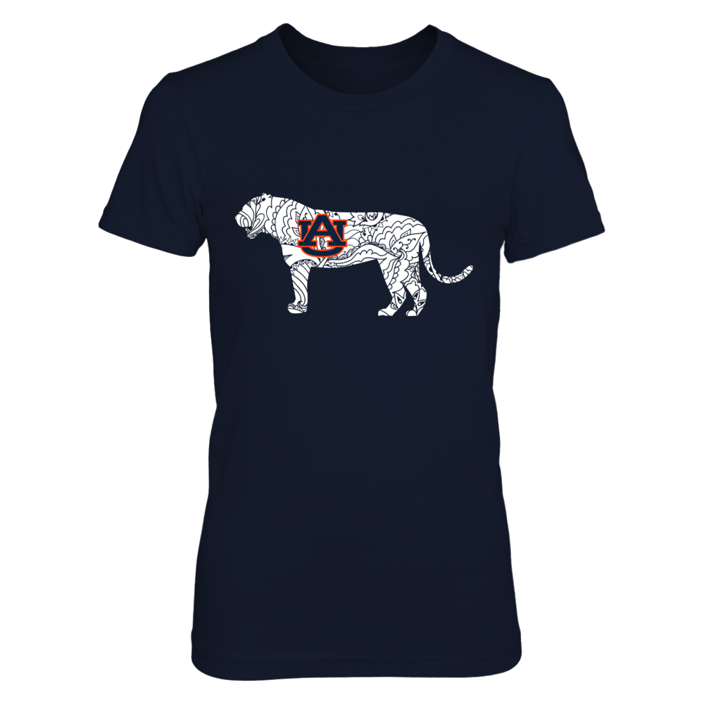 BEAUTIFUL TIGER - AUBURN TIGERS Front picture