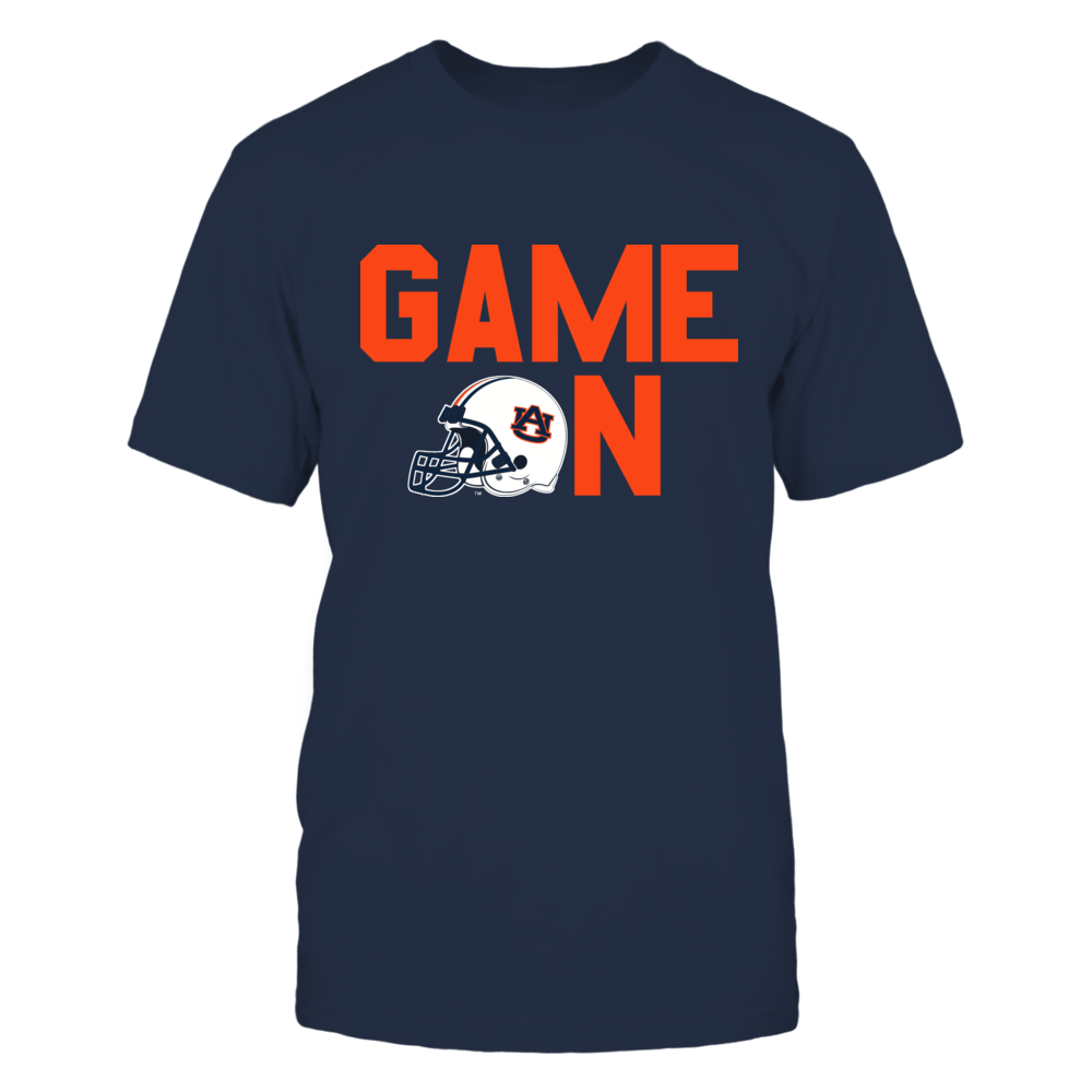 GAME ON (BLUE) - AUBURN TIGERS Front picture