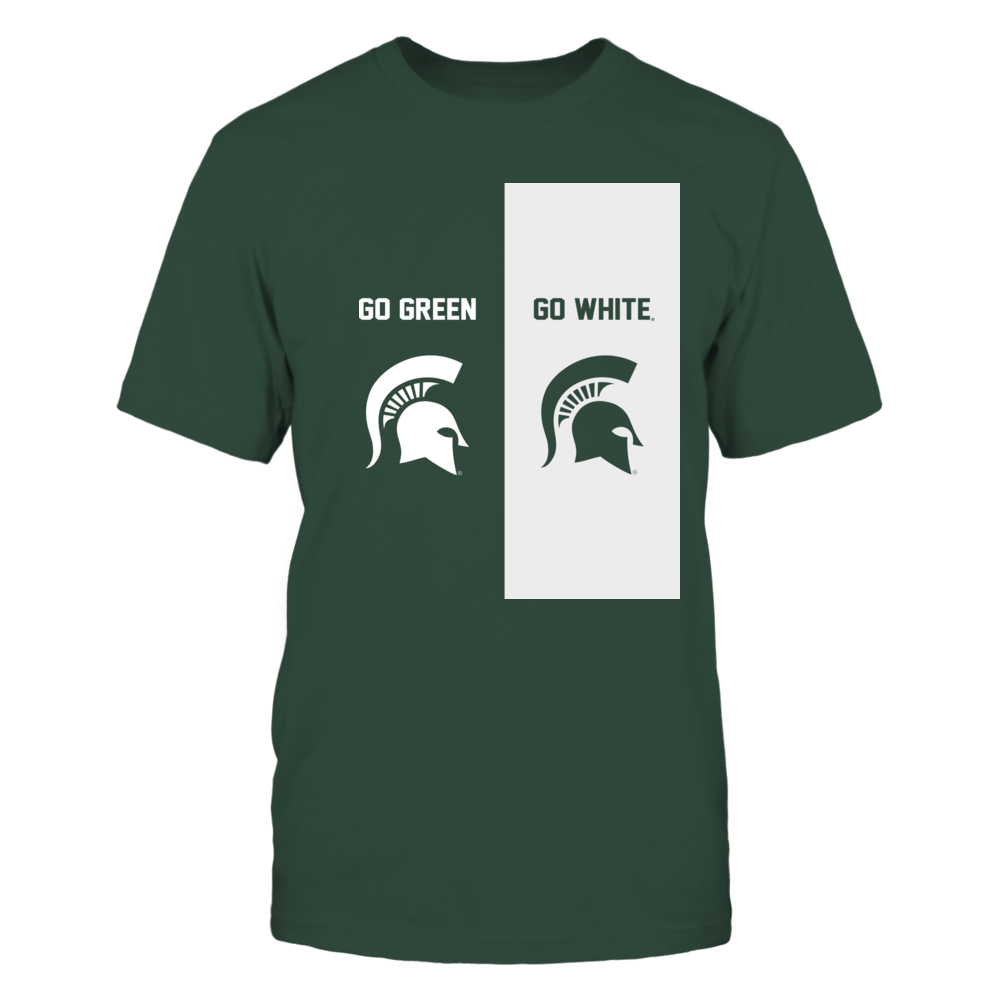 Michigan State Spartans - Go Green Go White Front picture