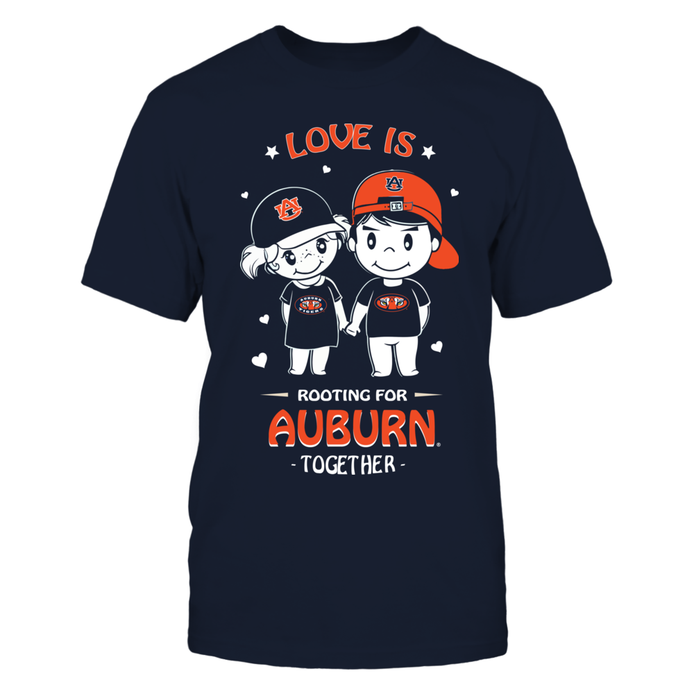 Auburn Tigers - Rooting Together Front picture