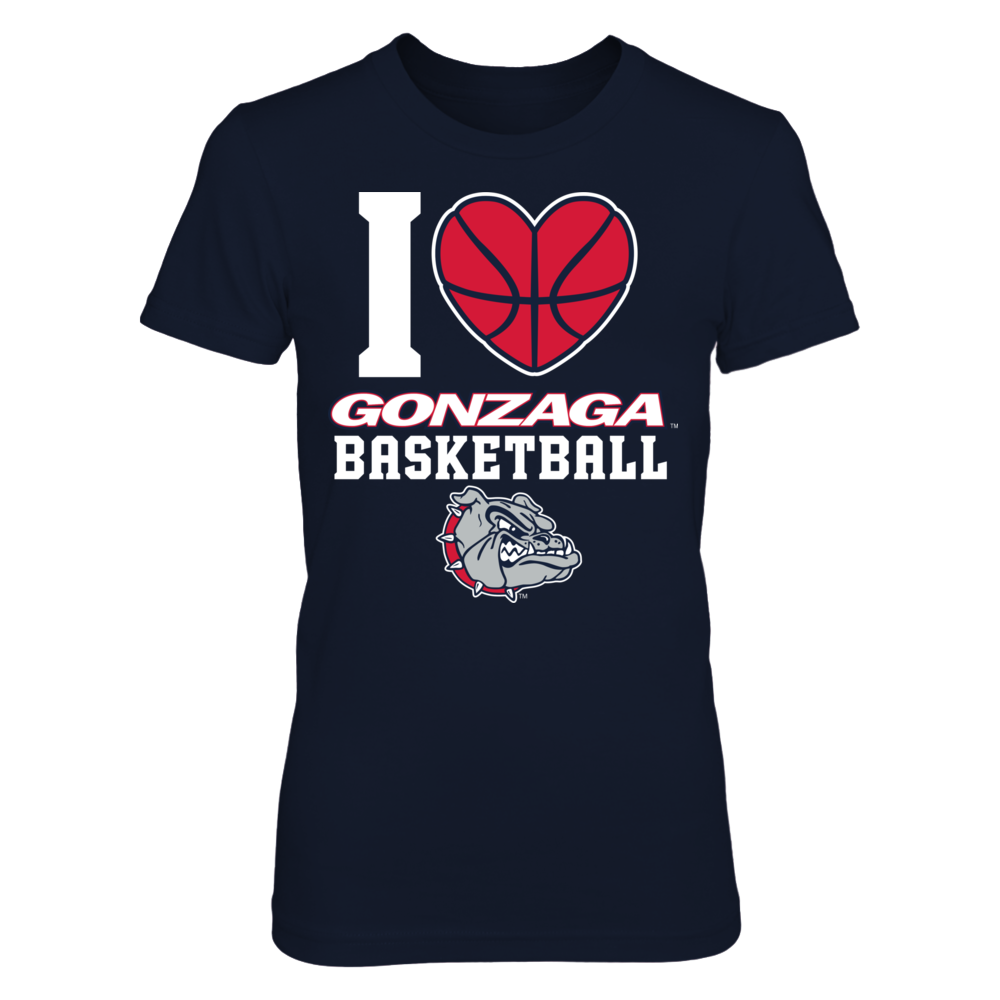 Gonzaga - I Heart Basketball Front picture