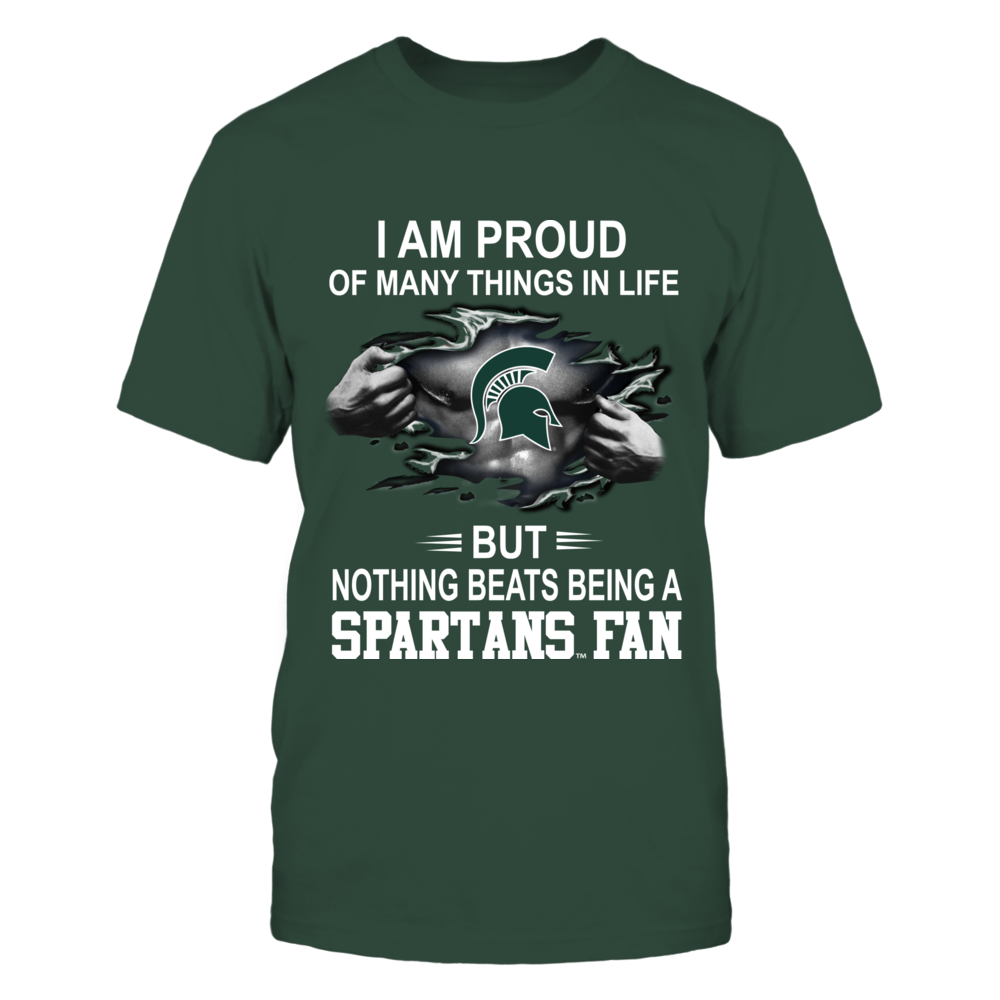 Michigan State Spartans - Nothing Beats Being A Spartans Fan Front picture