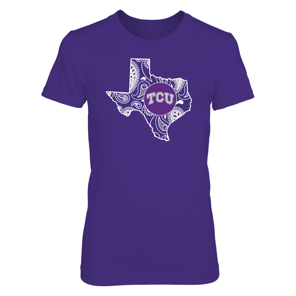 Paisley State - TCU Horned Frogs Front picture