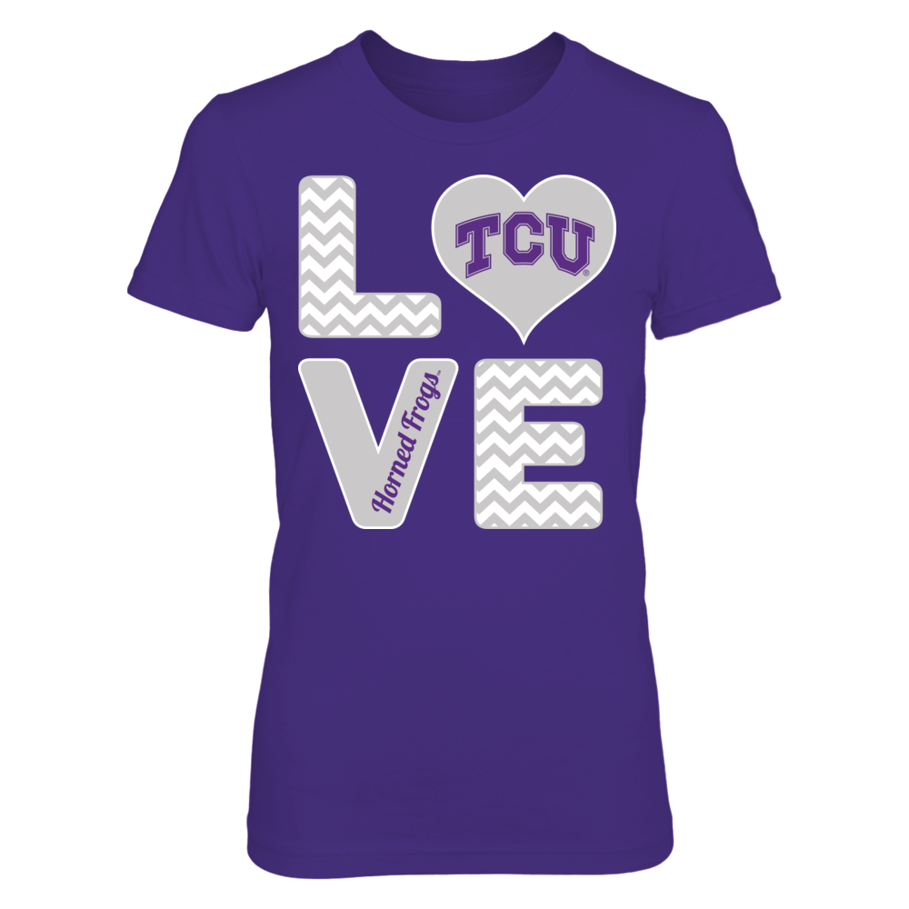 Stacked Love - TCU Horned Frogs Front picture