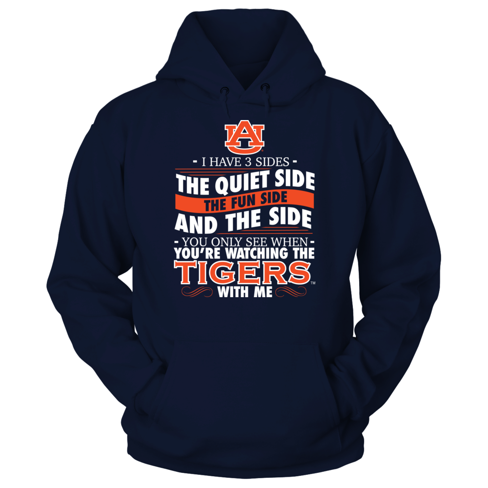 I Have 3 Sides - Auburn Tigers Front picture