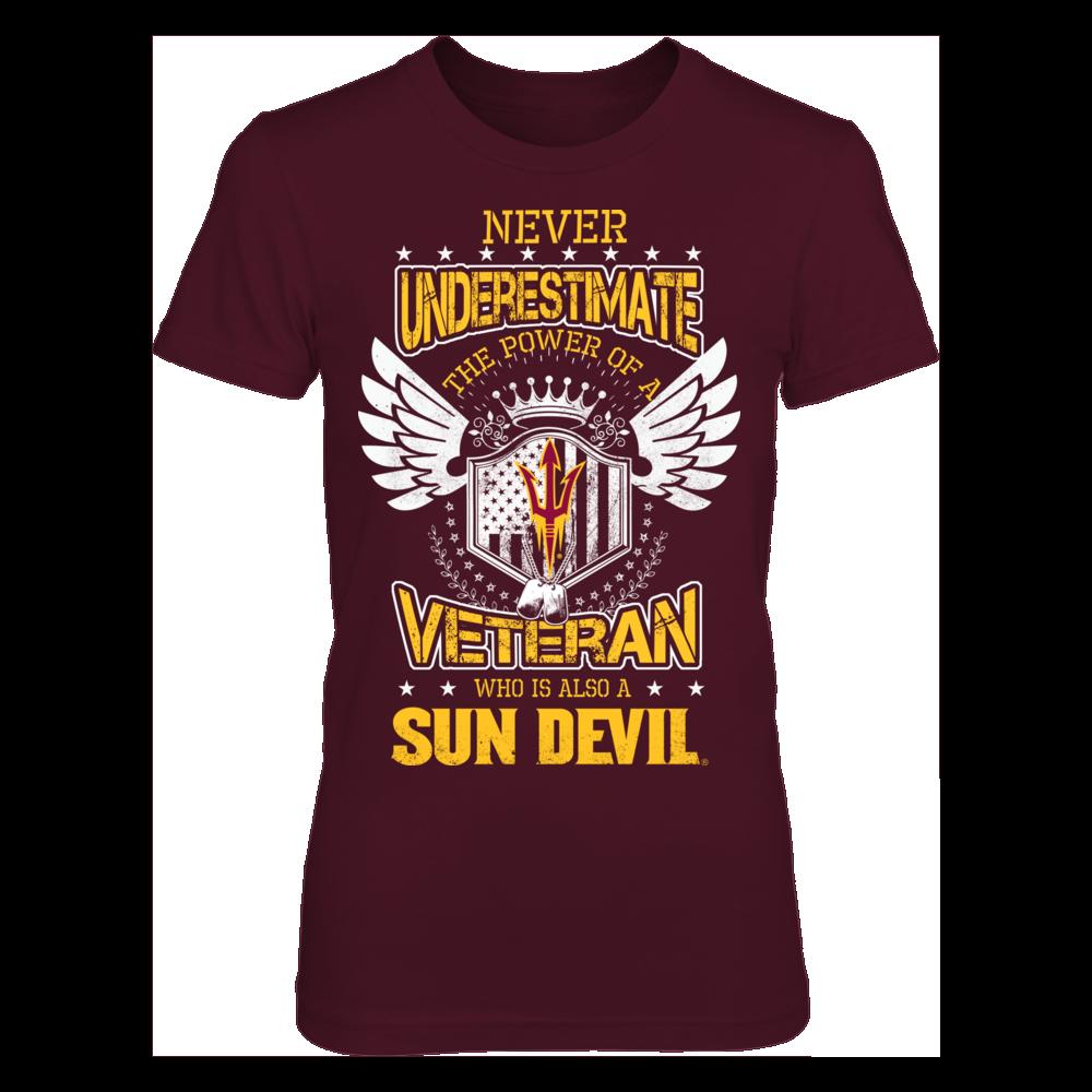 Arizona State Sun Devils- Veteran Front picture