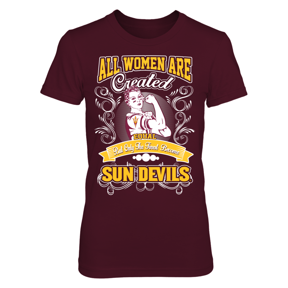 Arizona State Sun Devils - Women Are Created Equal Front picture