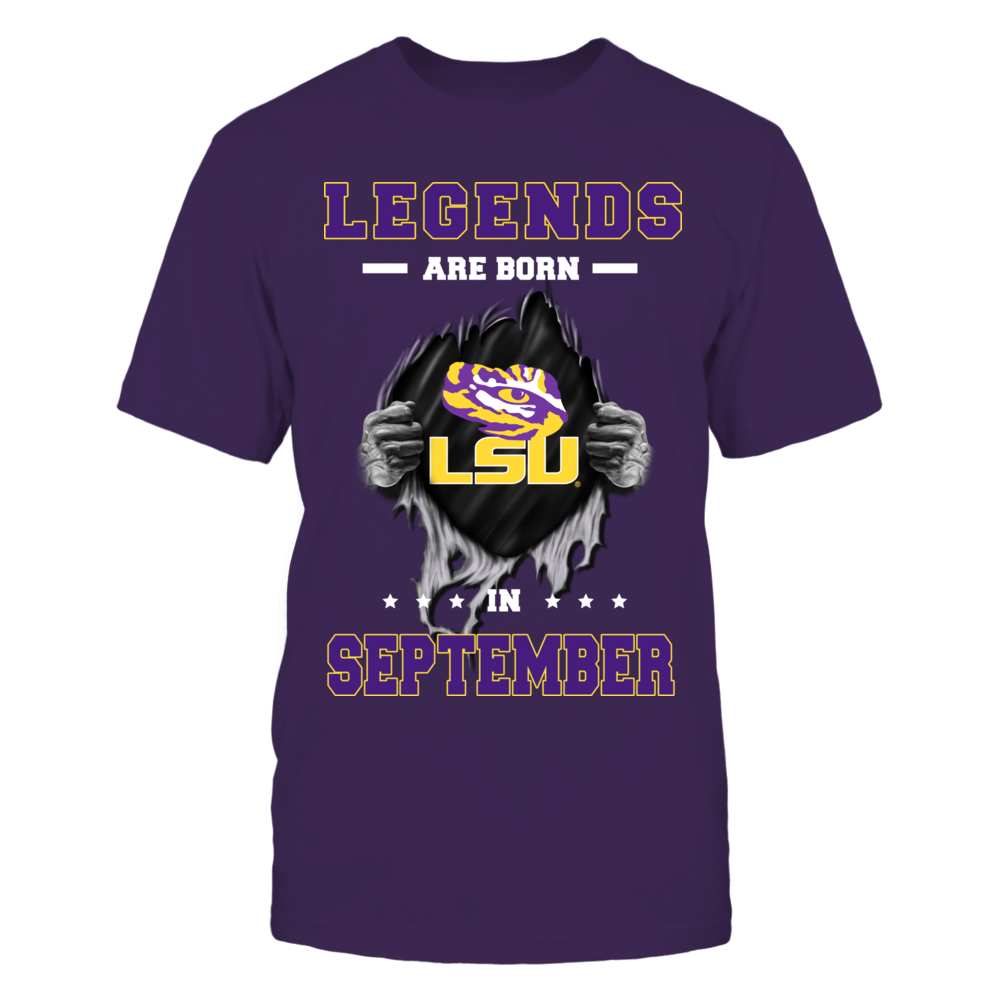 LSU Tigers - Legends are born in September Front picture