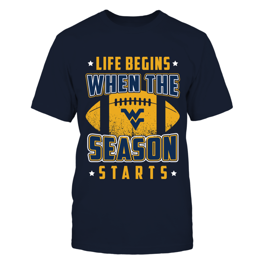 West Virginia Mountaineers - Life Begins Front picture