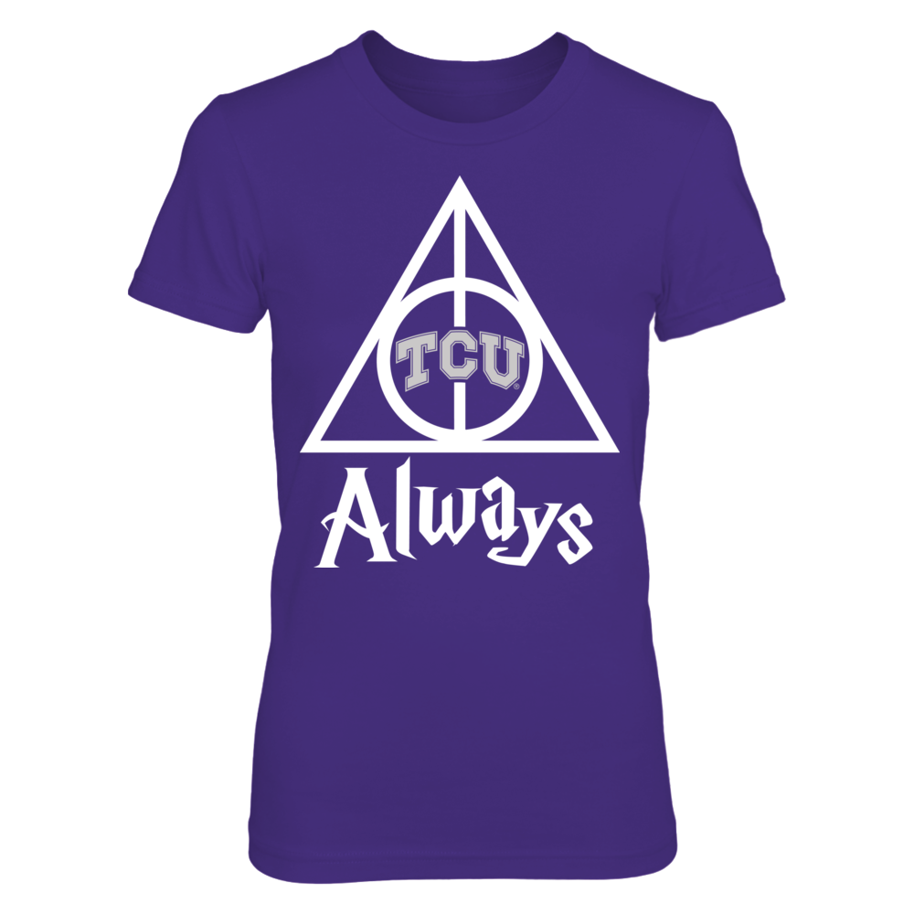Deathly Hallows - TCU Horned Frogs Front picture