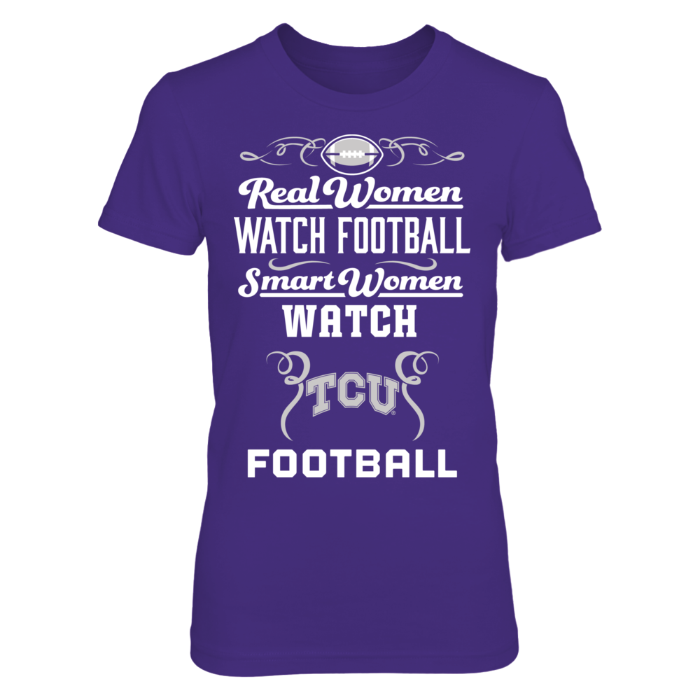 Real Women Watch Football - TCU Horned Frogs Front picture