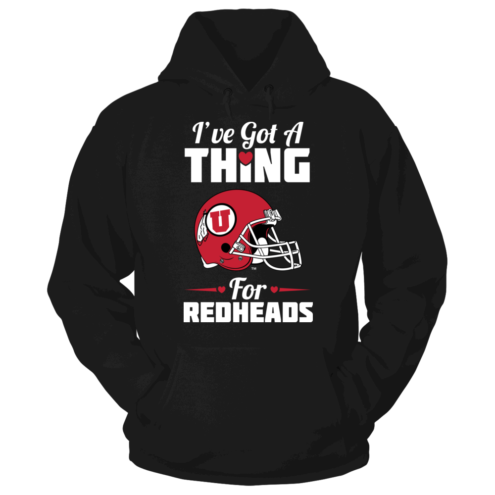 I've Got A Thing For Redheads - Utah Utes Front picture