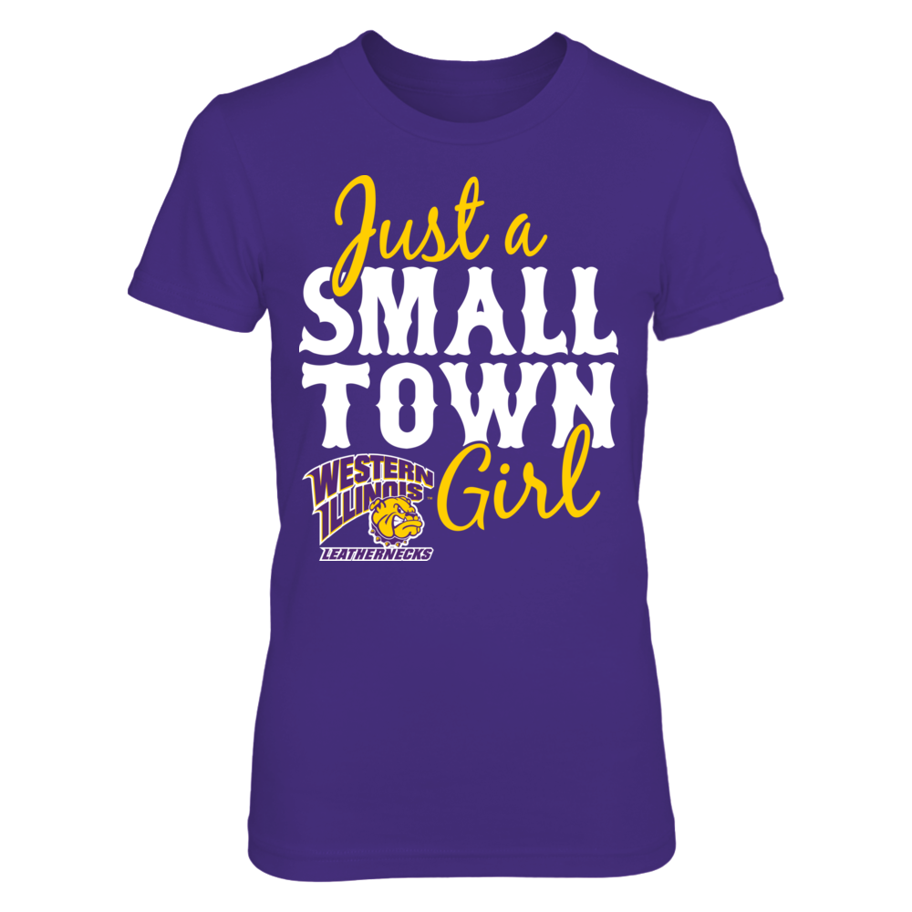 Just A Small Town Girl - Western Illinois Leathernecks Front picture
