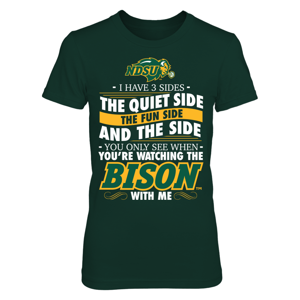 I Have 3 Sides - North Dakota State Bison Front picture