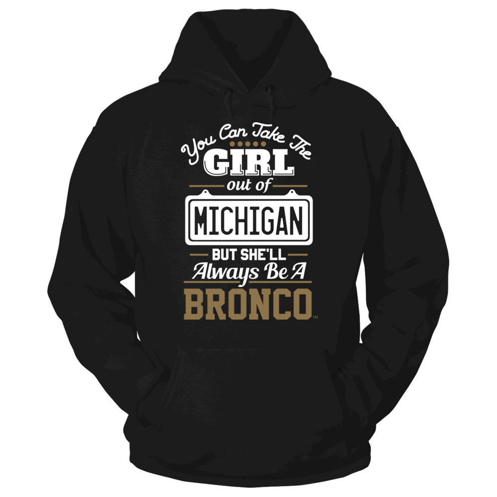 Take The Girl Out But She'll Always Be - Western Michigan Broncos Front picture