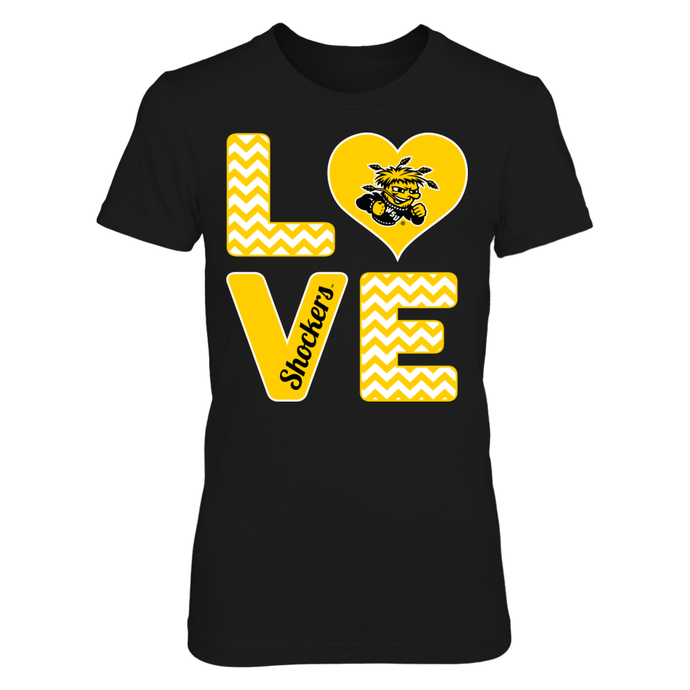 Stacked Love - Wichita State Shockers Front picture