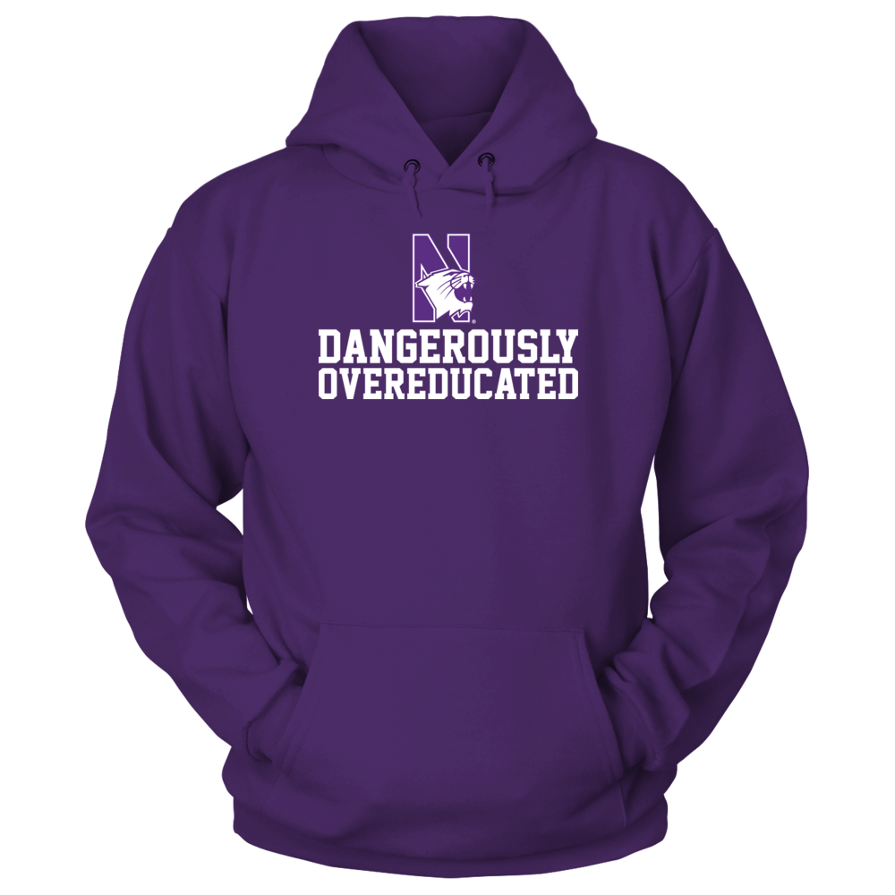 Northwestern Wildcats - Dangerously Overeducated Front picture
