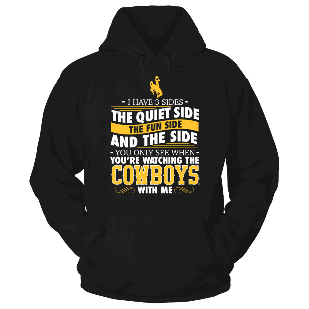 I Have 3 Sides - Wyoming Cowboys Front picture