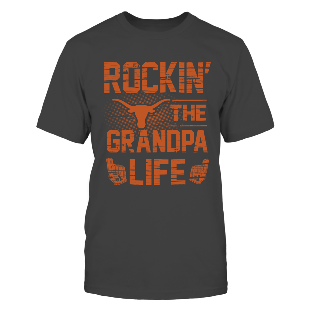Texas Longhorns - Rockin' The Grandpa Life Front picture