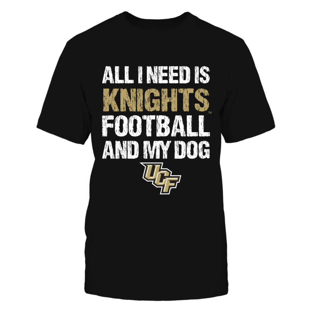 UCF Knights - All I Need - Football and Dog Front picture