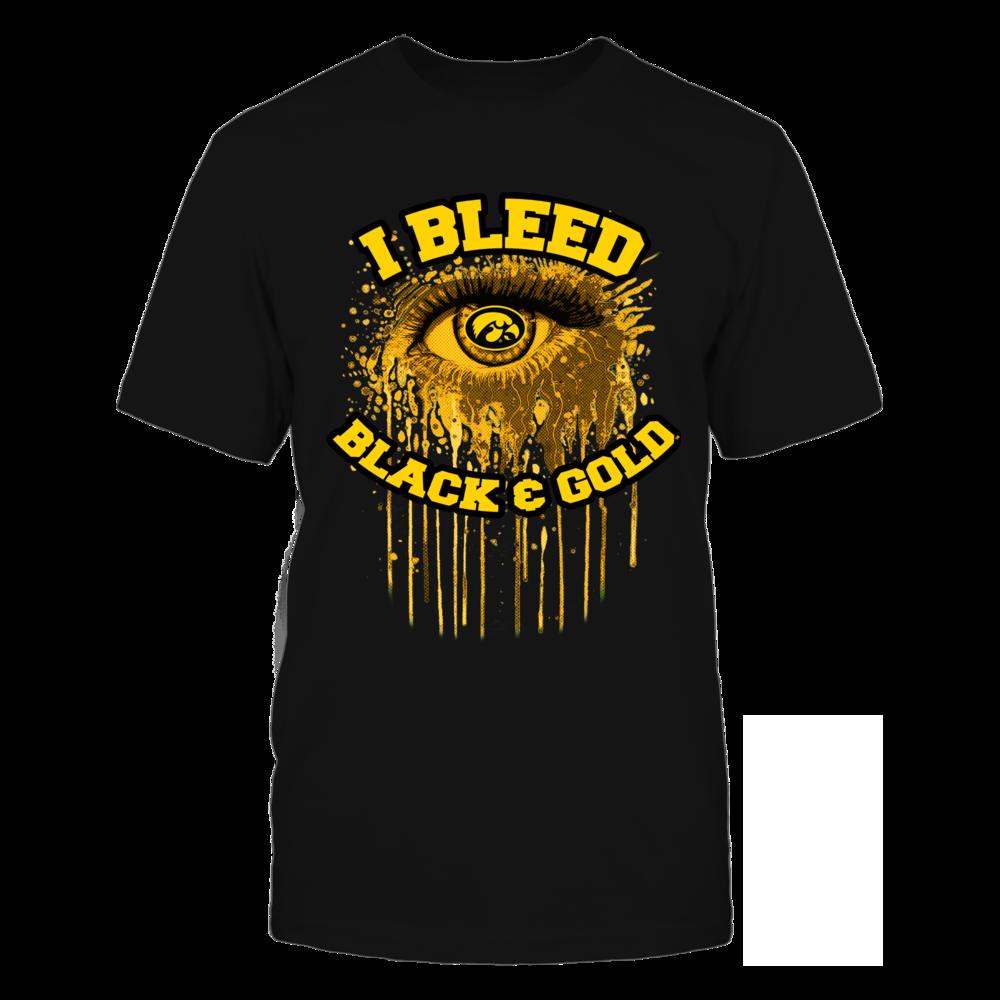 Iowa Hawkeyes - Bleeding Eye Front picture