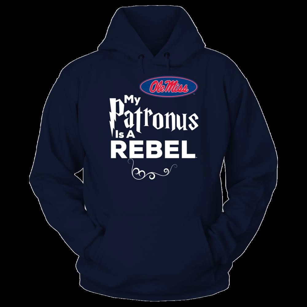 Official Ole Miss Rebels Fan Gear My Patronus Is A Rebel Front picture