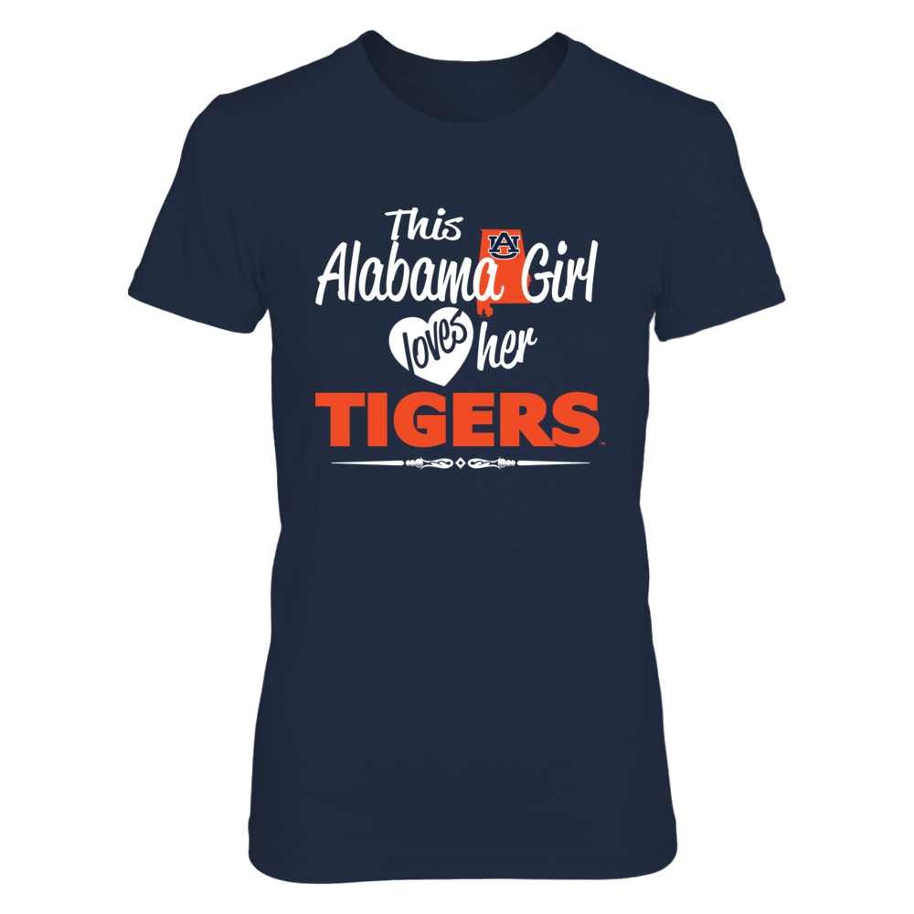 This Alabama Girl Loves Her Tigers Front picture