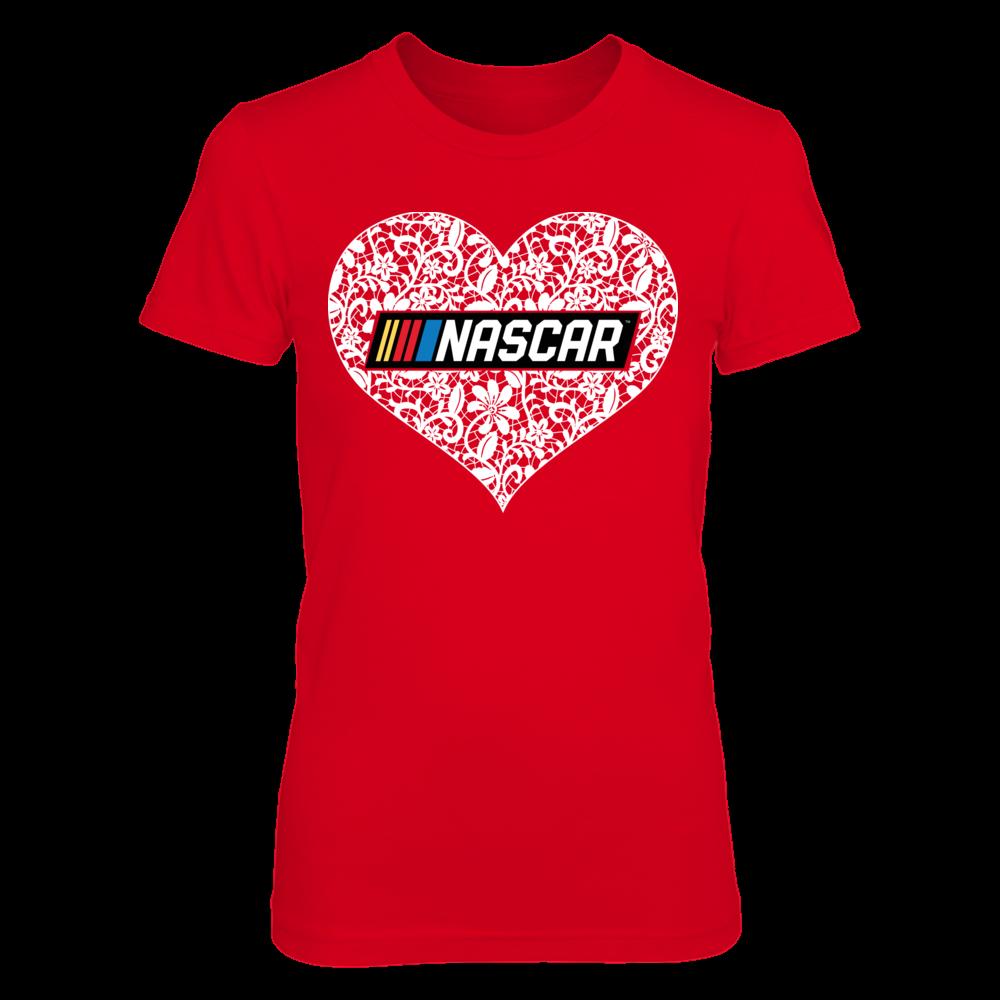 Lace Logo - NASCAR Front picture