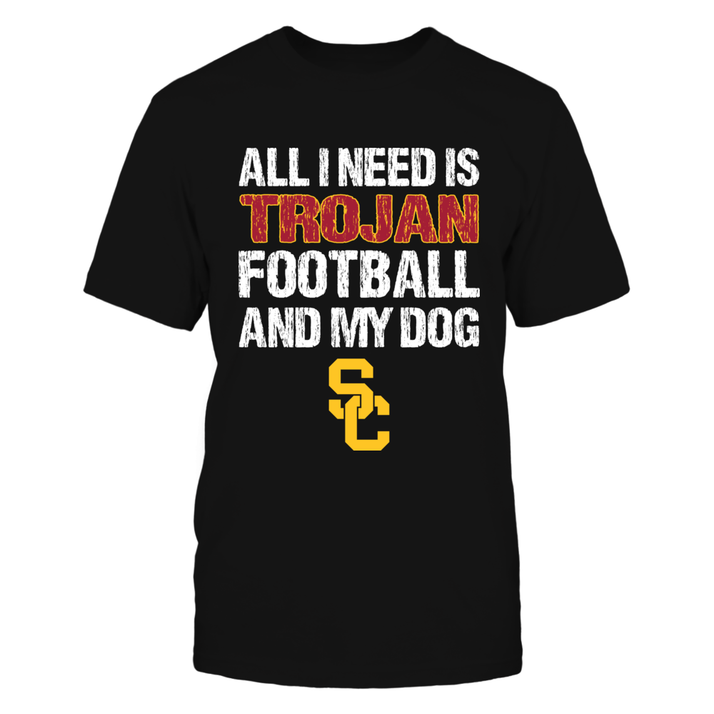 USC Trojans - All I Need - Football and Dog Front picture