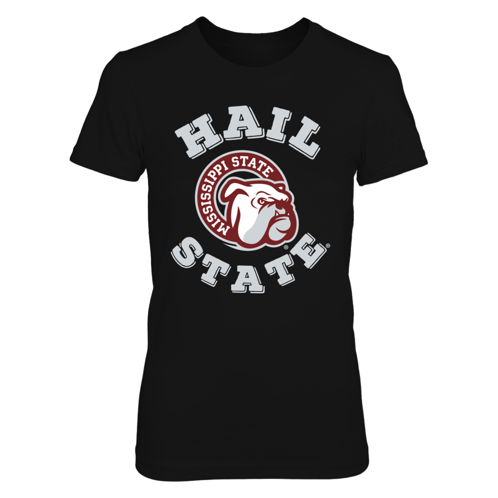Official Mississippi State Bulldogs Fan Merchandise Hail State Bulldog Head Front picture