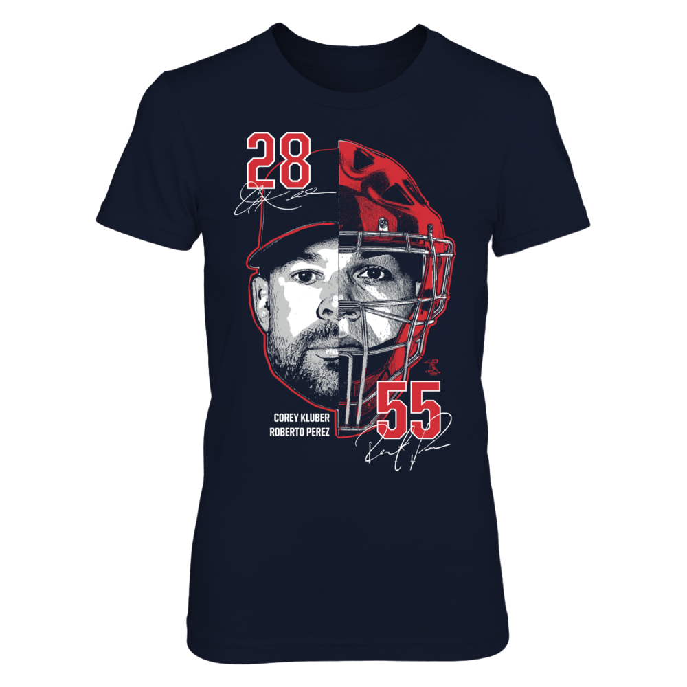 Two Faces - Corey Kluber, Roberto Perez Front picture